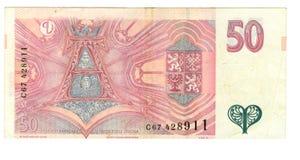 Oud document bankbiljetgeld Stock Afbeeldingen