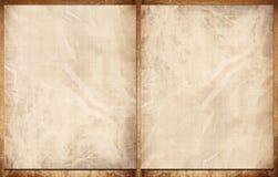 Oud document boek Stock Afbeelding