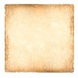 Oud document 1 * 1 grootte (Verhouding) Royalty-vrije Stock Foto's