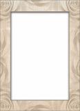 Oud document kader. Royalty-vrije Stock Afbeeldingen