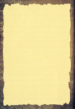 Oud document malplaatje Stock Foto's