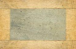 Oud document met frame Royalty-vrije Stock Afbeeldingen