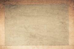 Oud document met frame Stock Afbeeldingen