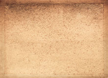 Oud document met frame Royalty-vrije Stock Foto