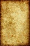 Oud document met grens Stock Afbeeldingen
