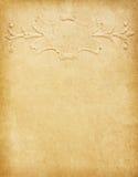 Oud document met klassiek patroon Royalty-vrije Stock Foto