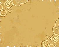 Oud document met ontwerp Royalty-vrije Stock Afbeeldingen