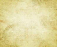Oud document of perkament stock illustratie