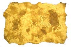 Oud document, textuur Stock Fotografie