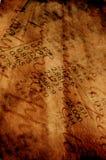Oud document voor achtergrond Stock Afbeelding
