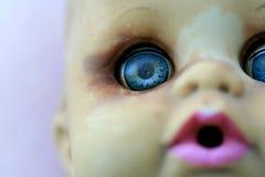 Oud Doll van het Stuk speelgoed Stock Fotografie