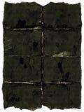 Oud donker document Stock Afbeeldingen