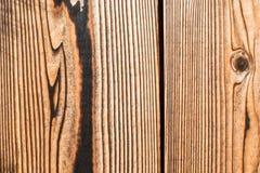 Oud donker houten patroon stock fotografie