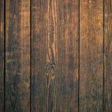 Oud donker van de mahonie houten muur vierkant formaat als achtergrond Royalty-vrije Stock Foto's