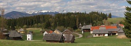 Oud dorp Royalty-vrije Stock Foto's