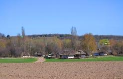 Oud dorp Royalty-vrije Stock Afbeelding