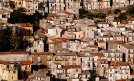 Oud dorp in Italië Stock Foto's
