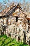 Oud dorpshuis Royalty-vrije Stock Foto