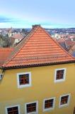 Oud Duits stadsgezicht Stock Foto's