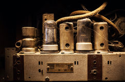Oud Dusty Electric Device Interior Royalty-vrije Stock Afbeelding