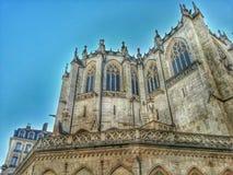 Oud eglise ofbthe Christen in de oude stad van Lyon, de oude stad van Lyon, Frankrijk royalty-vrije stock fotografie