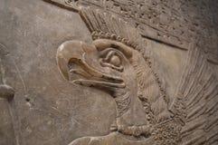 Oud Egyptisch beeldhouwwerk royalty-vrije stock afbeelding