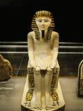 Oud Egyptisch Geschilderd Cijfer stock afbeeldingen