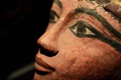 Oud Egyptisch standbeeld stock foto