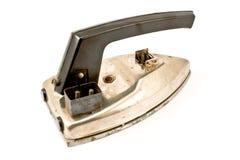 Oud elektrisch ijzer Stock Foto's