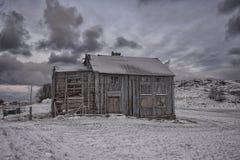 Oud en griezelig huis Stock Afbeeldingen