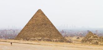 Oud en Modern Kaïro Royalty-vrije Stock Afbeelding