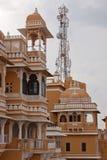Oud en modern in Rajasthan, India royalty-vrije stock foto's
