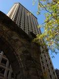 Oud en Modern Seattle Royalty-vrije Stock Fotografie