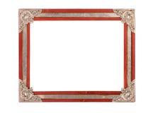 Oud en oud fotoframe Royalty-vrije Stock Afbeelding