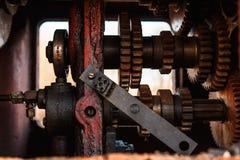 Oud en roestig metaal Stock Afbeelding