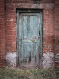 Oud en Rusty Door Stock Fotografie