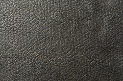 Oud en ruw zwart pingpongrubber Royalty-vrije Stock Afbeeldingen