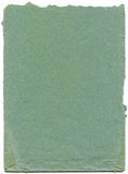 Oud en versleten blauw document Royalty-vrije Stock Fotografie