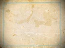 Oud en versleten document Stock Foto