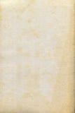 Oud en vlekdocument textuur Stock Foto