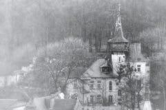 Oud eng huis Stock Afbeeldingen
