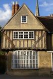 Oud Engels huis Stock Foto