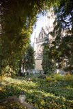 Oud evangelisch kerkhof Stock Fotografie