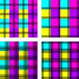 Oud fashined Geometrisch patroon Royalty-vrije Stock Afbeeldingen