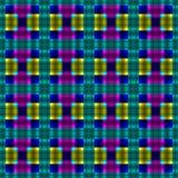 Oud fashined Geometrisch patroon Royalty-vrije Stock Afbeelding