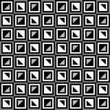 Oud fashined Geometrisch patroon Stock Fotografie