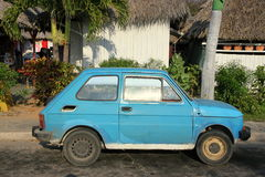 Oud Fiat Royalty-vrije Stock Foto's