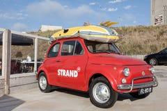 Oud Fiat 500 Royalty-vrije Stock Foto's