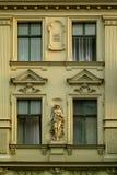 Oud flatgebouw Royalty-vrije Stock Afbeeldingen
