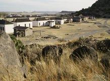 Oud Fort Davis stock afbeeldingen